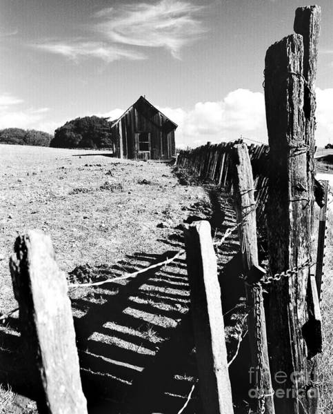 Photograph - Barn Fence by Norman Andrus