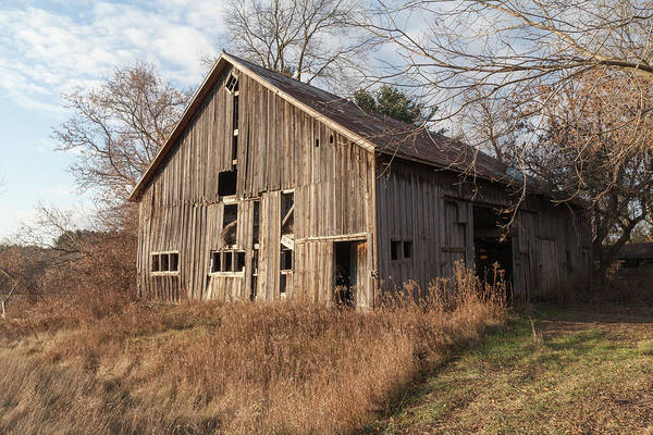 Photograph - Barn In Morning Light by Fran Riley