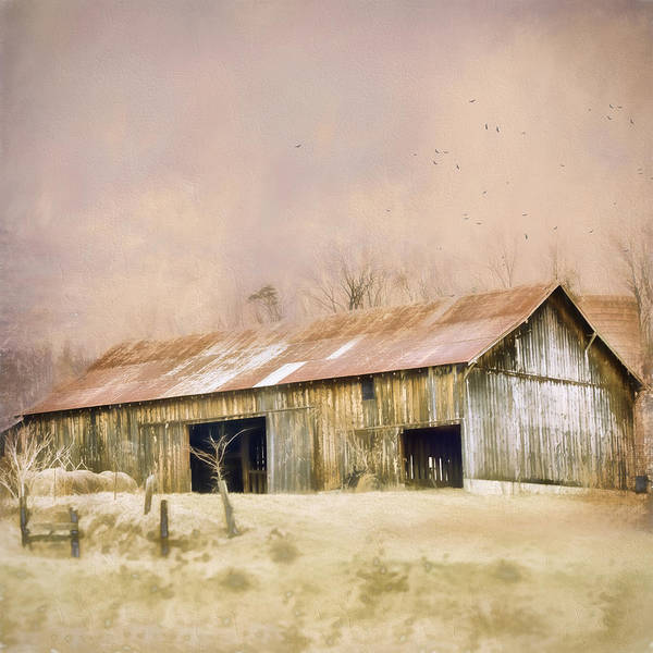 Wall Art - Photograph - Barn by Kathy Jennings