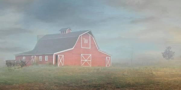 Barn, Longmont, Colorado Art Print
