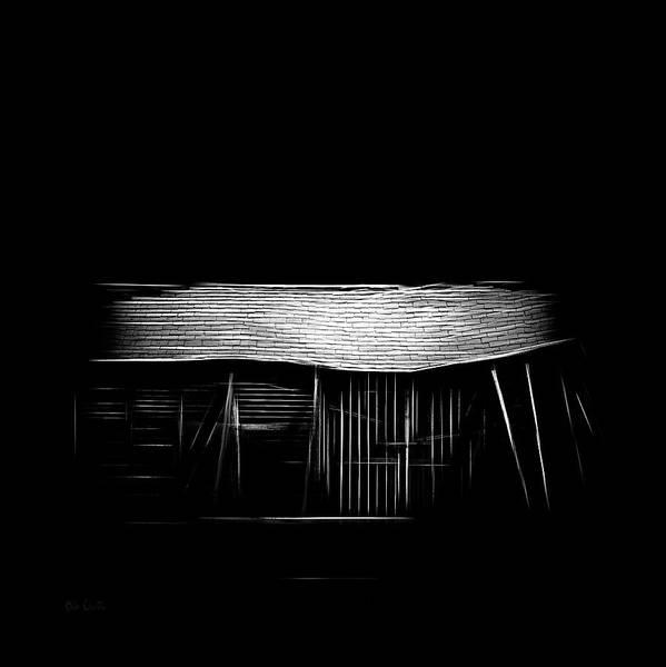 Photograph - Barn  Mirage by Bob Orsillo