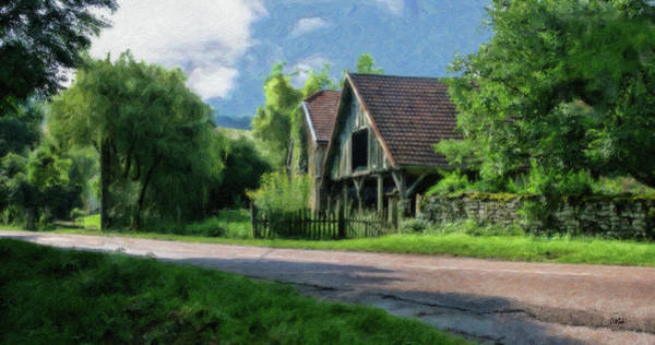 Painting - Barn Near Lac De Panthier - P4a160017 by Dean Wittle