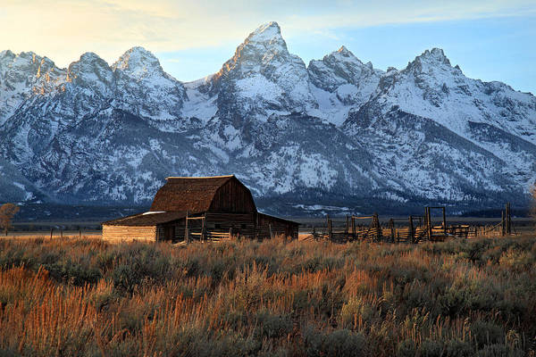 Photograph - Barn On Mormon Row Grand Tetons by Pierre Leclerc Photography