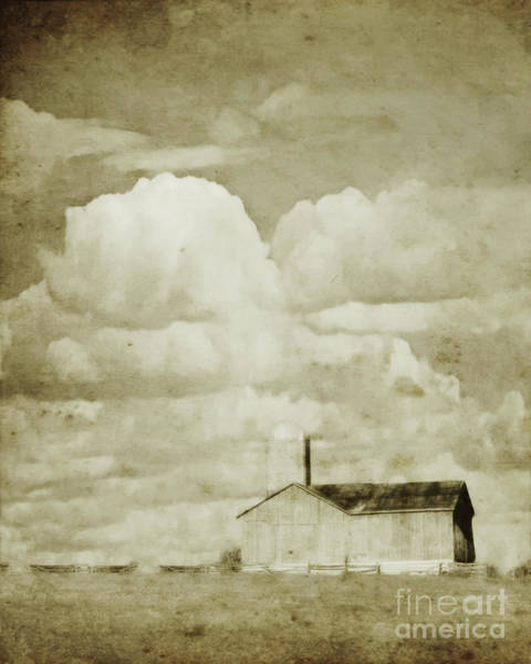 Photograph - Barn On The Flats by Hal Halli