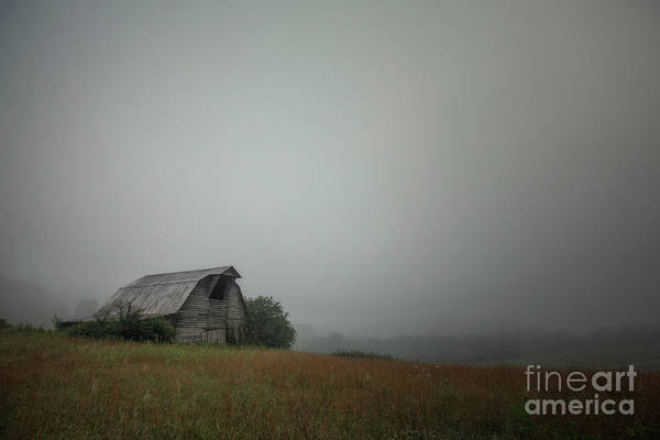 Photograph - Barn On The Hill by Tim Wemple