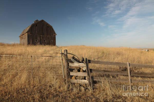 Wall Art - Photograph - Barn On The Prairie by Idaho Scenic Images Linda Lantzy
