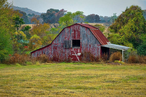 Photograph - Barn On White Oak Road by Patricia Cale