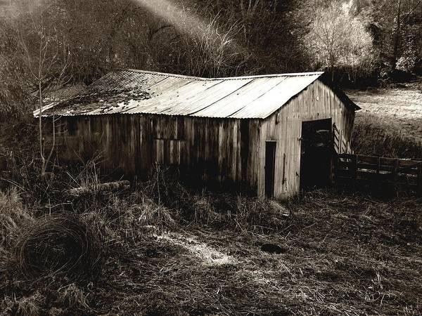 Photograph - Barn by Roberto Alamino