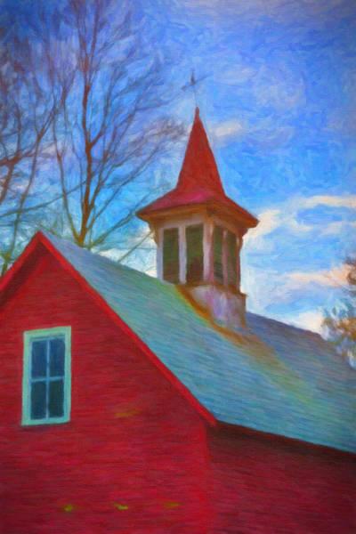 Photograph - Barn Roof by Tom Singleton