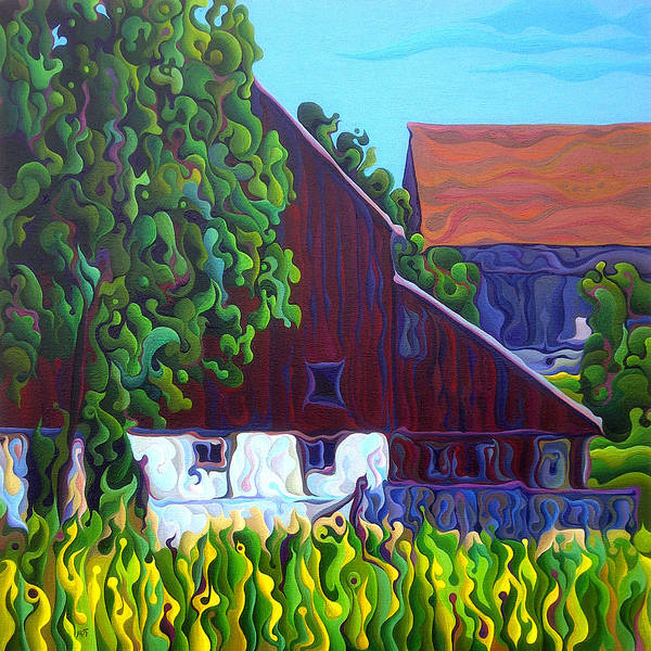 Painting - Barn Sided by Amy Ferrari