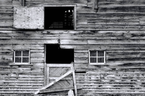 Wall Art - Photograph - Barn Texture by Wayne Sherriff