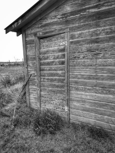 Photograph - Barn Wall by Kathy McCabe
