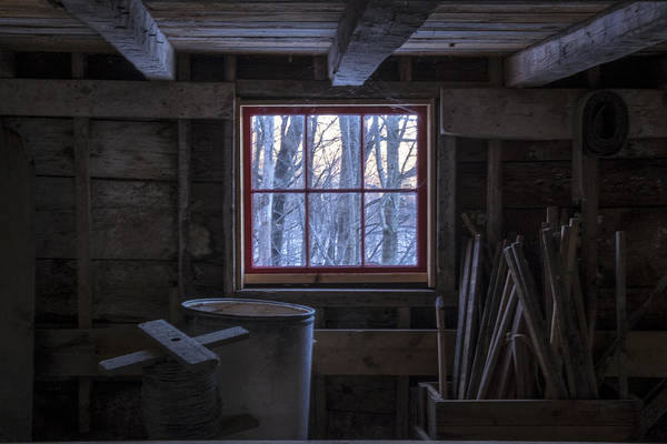 Photograph - Barn Window II by Tom Singleton