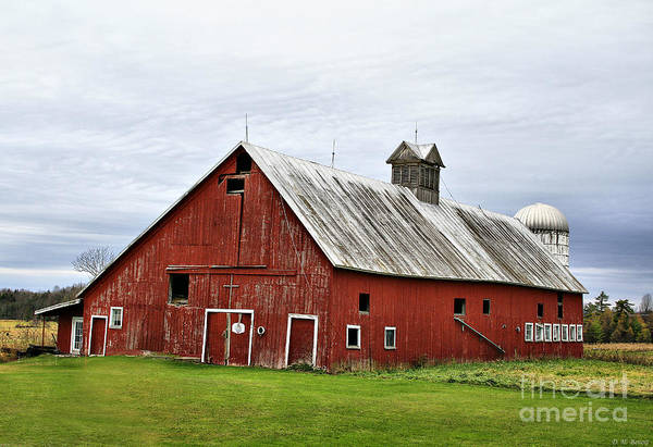 Photograph - Barn With A Cross by Deborah Benoit