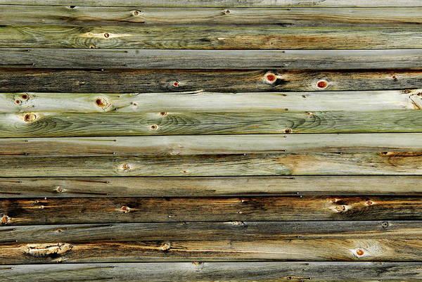 Photograph - Barn Wood Texture  by Andrea Kollo