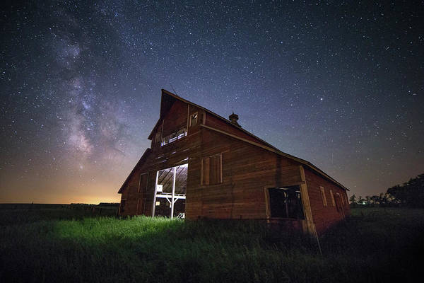 Photograph - Barn X by Aaron J Groen