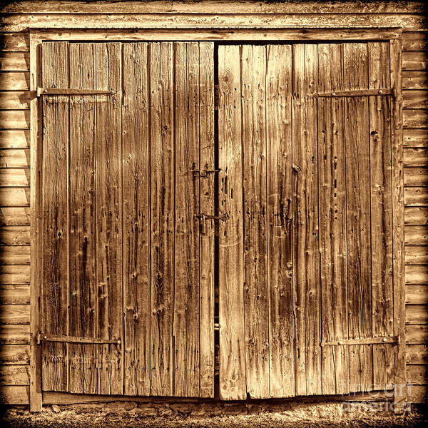 Photograph - Barndoors by American West Legend By Olivier Le Queinec