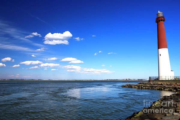 Barnegat Lighthouse Photograph - Barnegat Lighthouse Long Beach Island by John Rizzuto