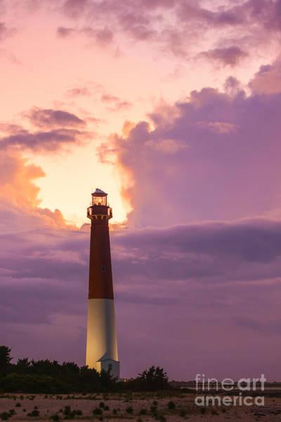 Barnegat Lighthouse Photograph - Barnegat Lighthouse Nj Travel Guide 2016 Crop by Michael Ver Sprill