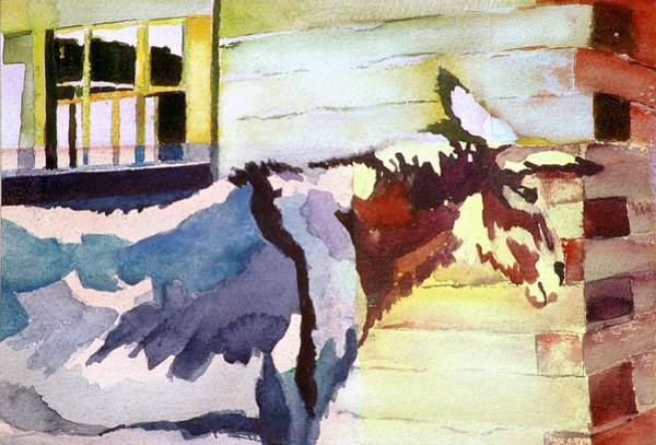 Painting - Barnie by Connie Williams
