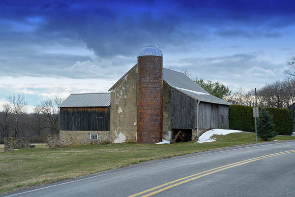 Photograph - Barns And Country by Paul Ross