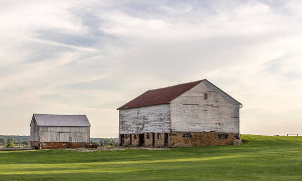 Photograph - Barns In Iowa by Pete Hendley
