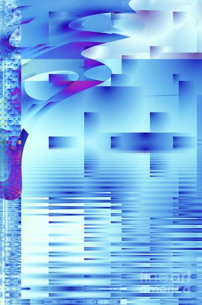 Pool Digital Art - Barnsley Blue by John Edwards