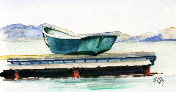 Painting - Barnstable Skiff by Paul Gaj