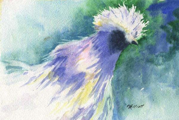Fowl Painting - Barnyard Beauty by Marsha Elliott