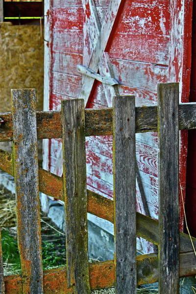 Photograph - Barnyard Gate by Diana Hatcher