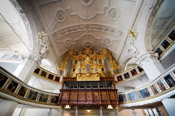 Photograph - Baroque Pipe Organ In Celle by Jenny Setchell