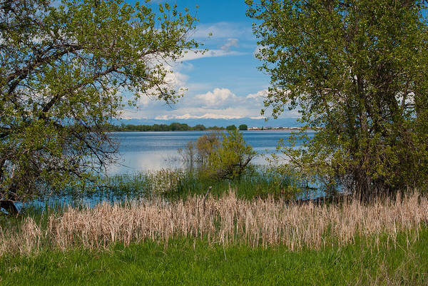 Photograph - Barr Lake Wildlife Refuge Landscape by Cascade Colors