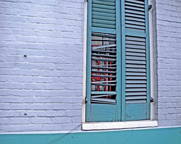 Photograph - Barred And Shuttered by Lynda Lehmann