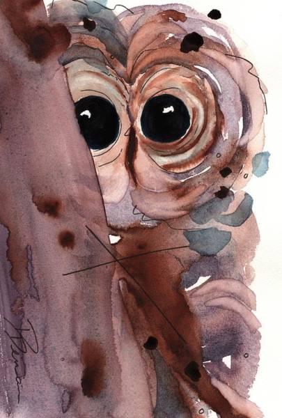 Painting - Barred Owl by Dawn Derman