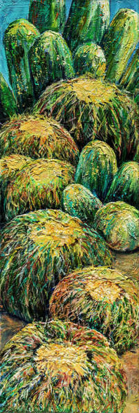 Painting - Barrel Cactus #2 by Sally Quillin