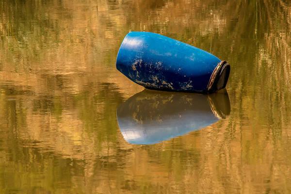 Photograph - Barrel On Golden Pond by Tam Ryan