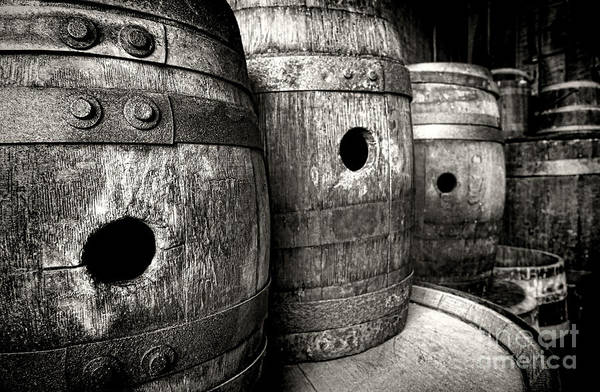Photograph - Barrels Of Laugh Past  by Olivier Le Queinec