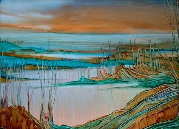 Painting - Barren by Betsy Carlson Cross