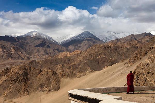 Photograph - Barren Himalayas by Marji Lang