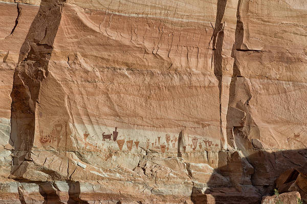 Archaic Photograph - Barrier Canyon Paintings by Kathleen Bishop