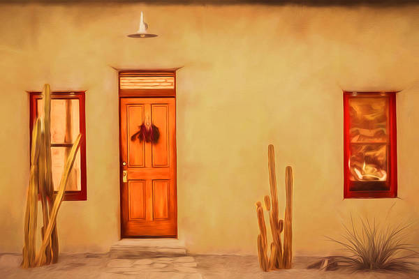Photograph - Barrio Adobe by Susan Rissi Tregoning