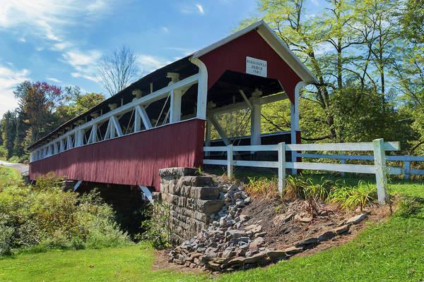 Somerset County Photograph - Barronvale Bridge  by Cindy Lark Hartman