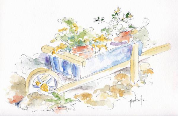 Painting - Barrow Beauty Mas St Antoine by Pat Katz