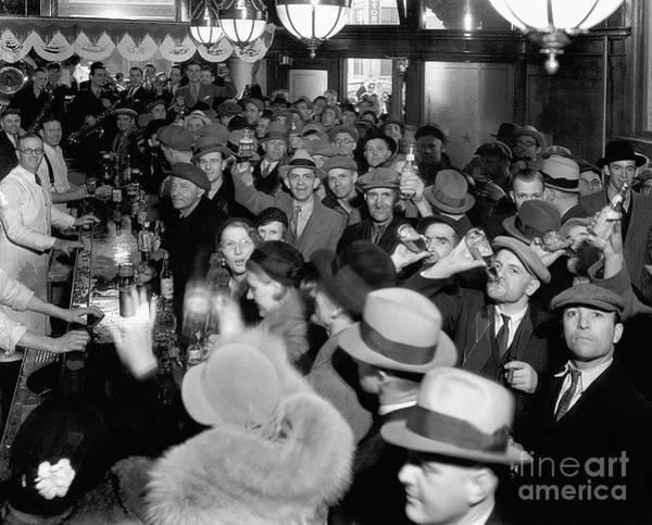 Flapper Photograph - Bars Open by Jon Neidert