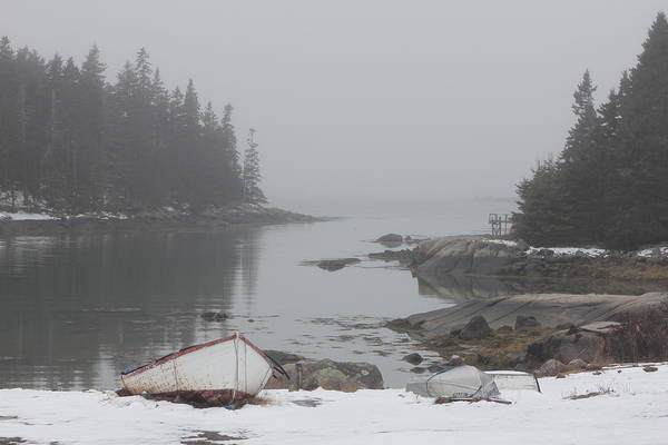 Photograph - Barton Island Cove by John Meader
