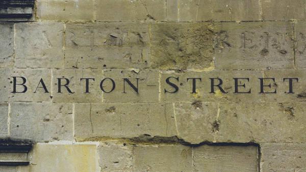 Photograph - Barton Street Carved In The Stone by Jacek Wojnarowski