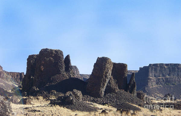 Photograph - Basalt Columns - The Ice Age Flood by Charles Robinson
