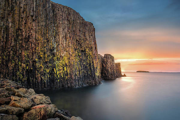 Photograph - Basalt Island by Mihai Andritoiu