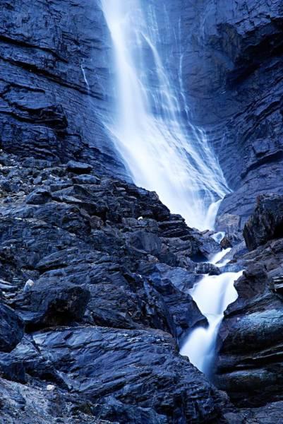 Wall Art - Photograph - Base Of Tak Falls by Larry Ricker