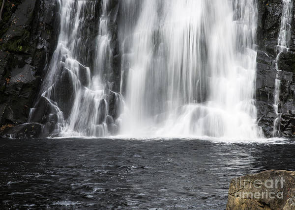 Photograph - Base Of Youngs River Falls by Robert Potts